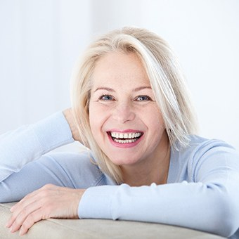 McKinney Dental Implants Lady with gorgeous smile