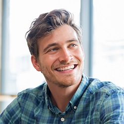 Suave man with stunning smile